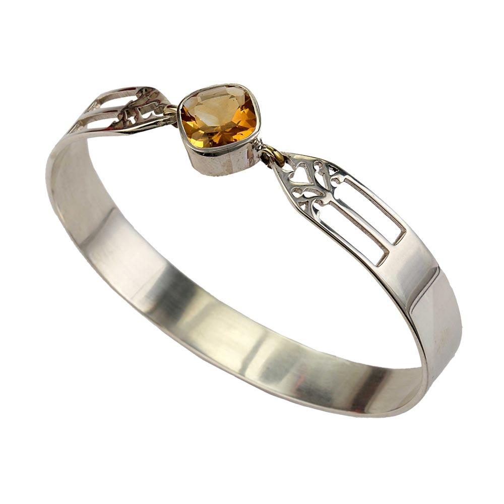 Aspire Bangle - Citrine