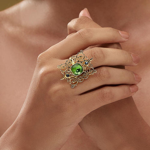 Cartouche Ring - Confluence by Swarovski