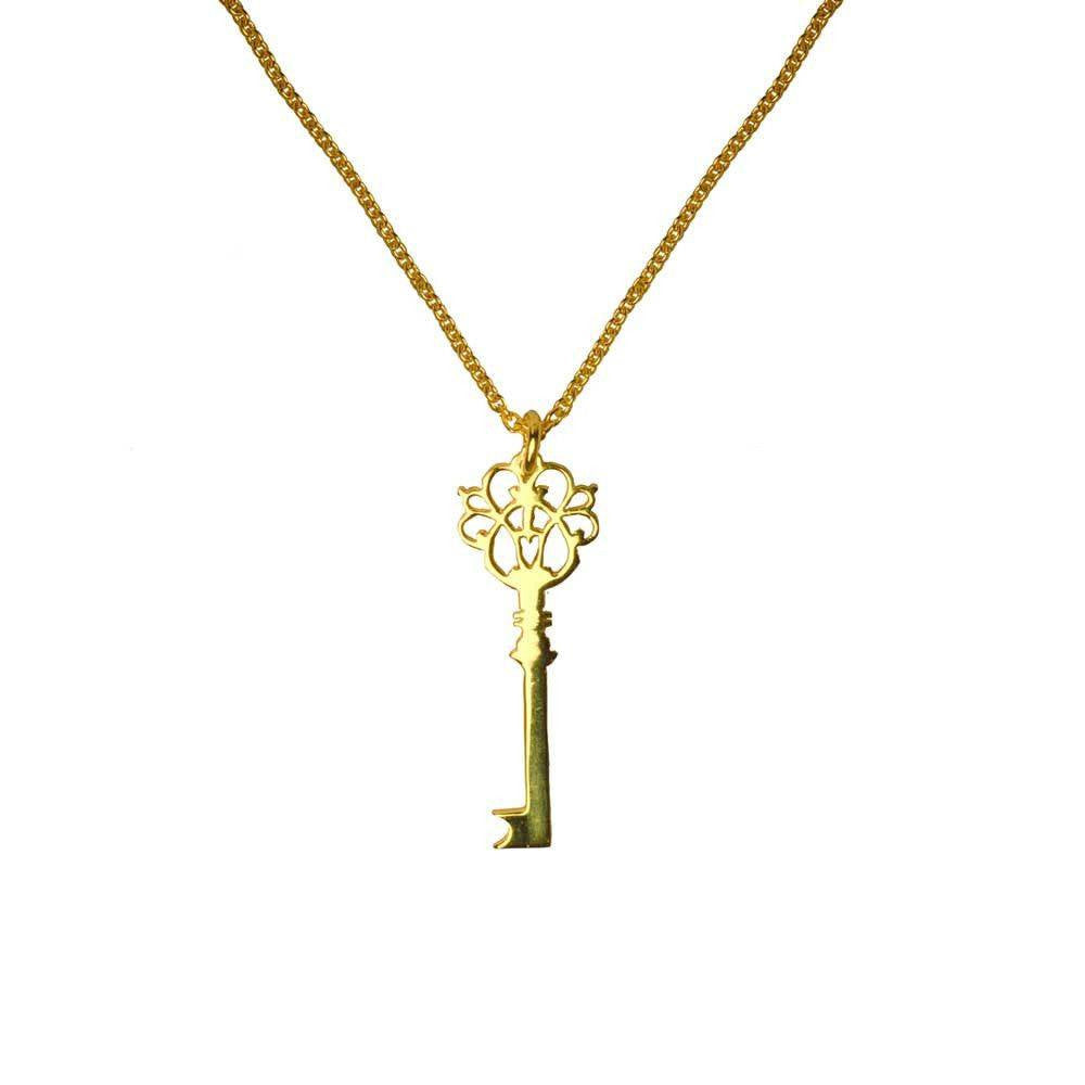 Single Key Necklace
