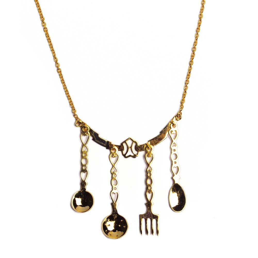 Kitchen Set Necklace