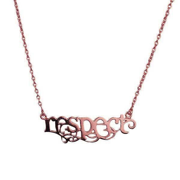 Mini Respect Necklace