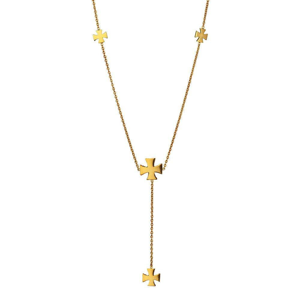 Medal of Valour Lariat Necklace