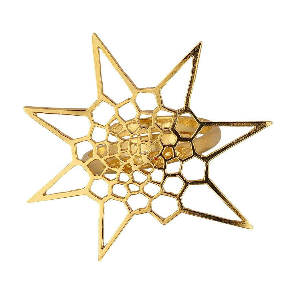 Star Cell Fractal Ring
