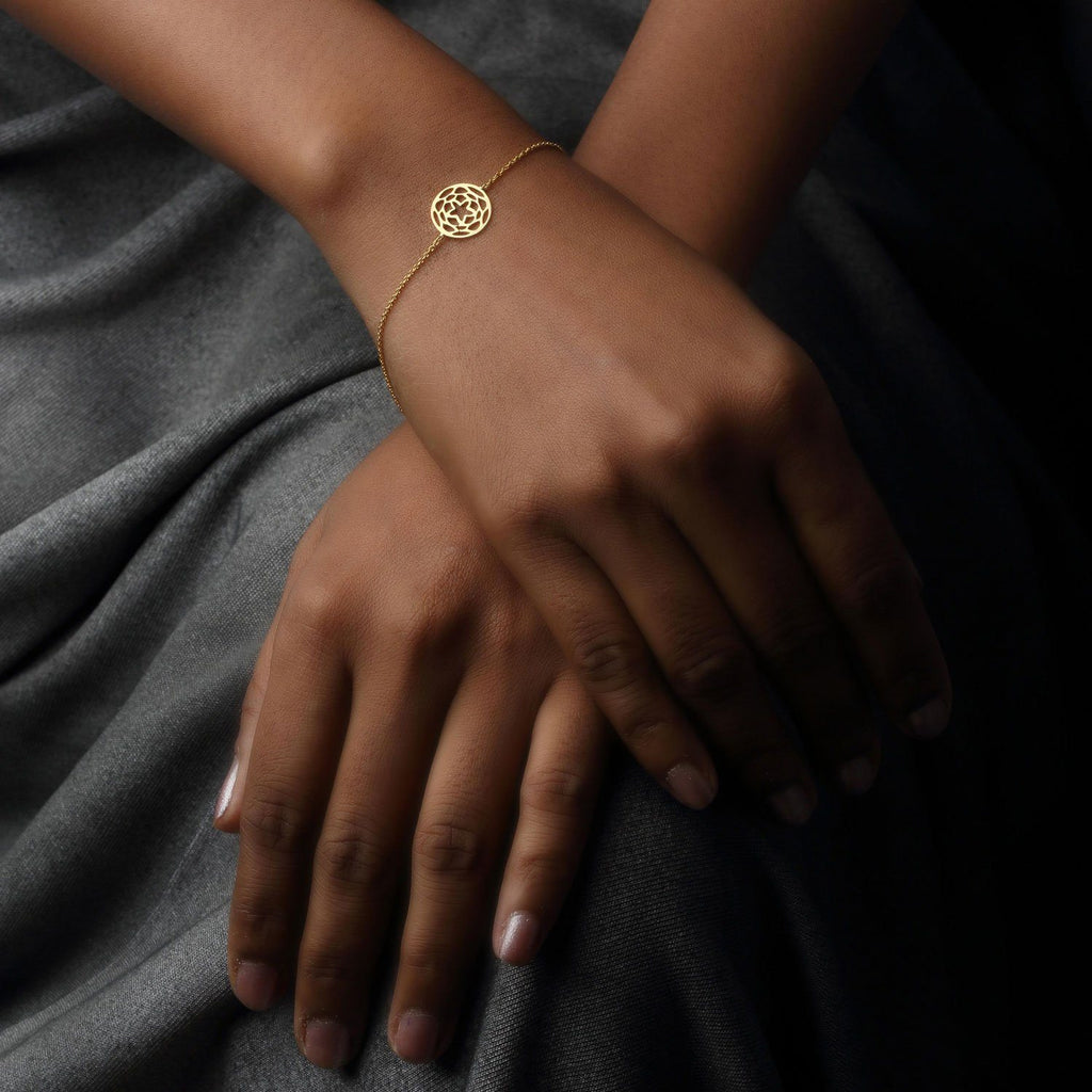 Path of Venus Bracelet in 18k Gold