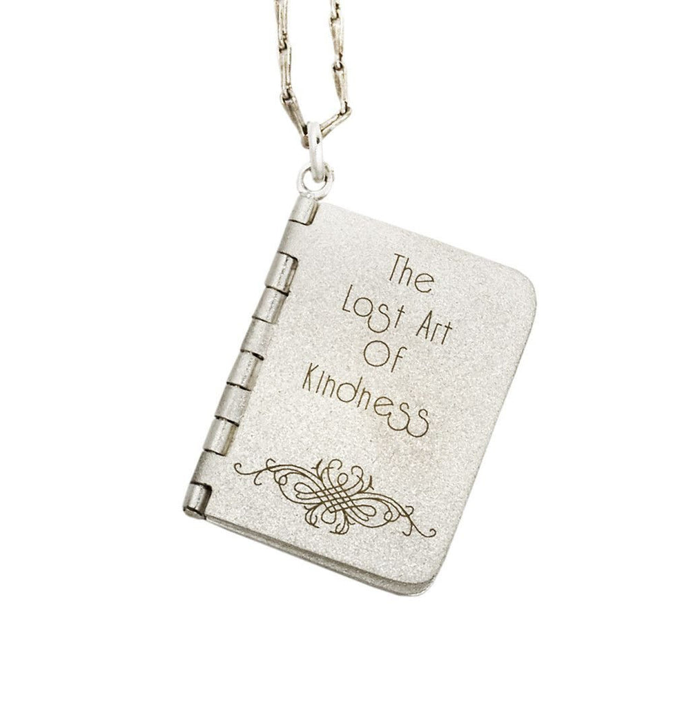 Lost Art of Kindness Book Pendant