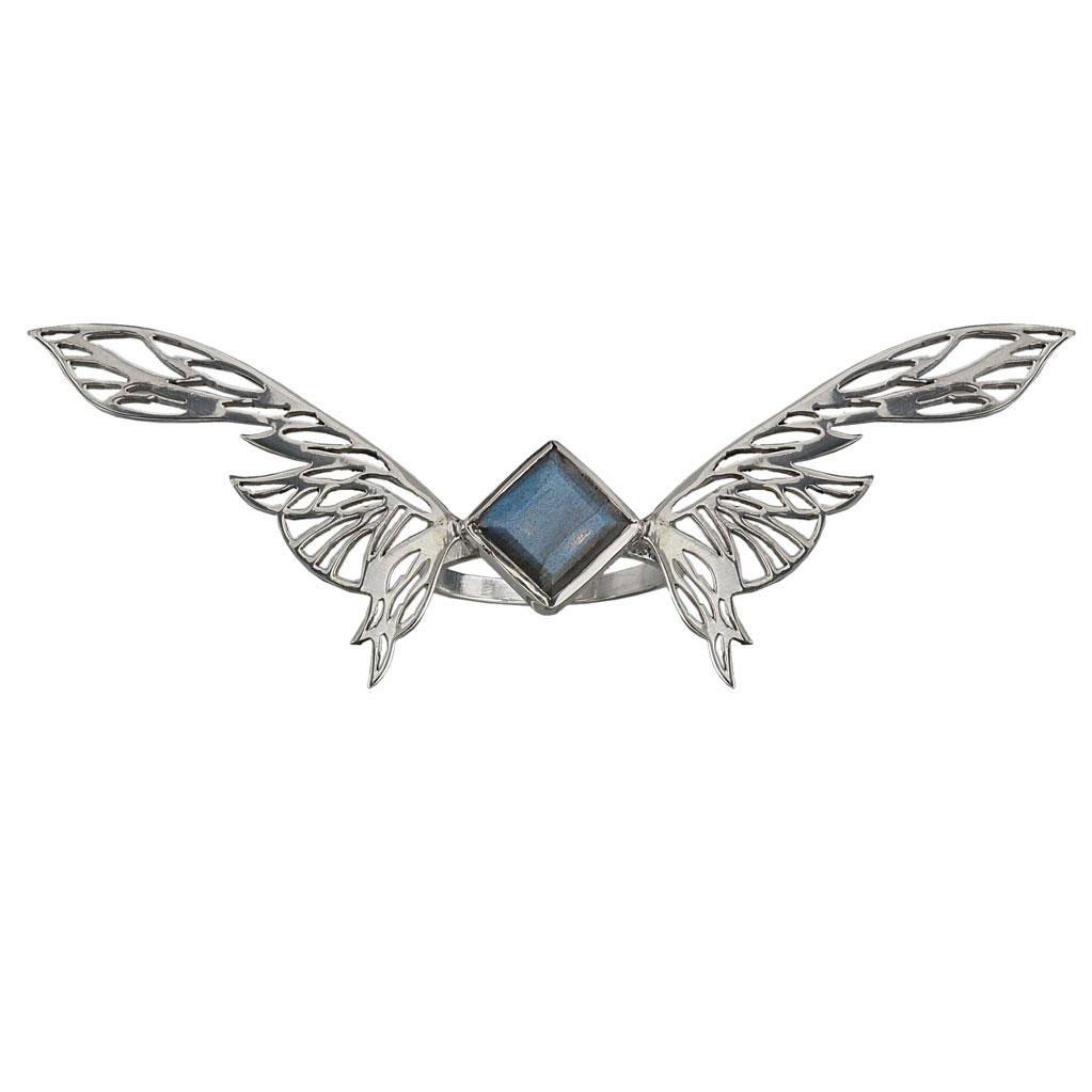 Soar Ring - Labradorite