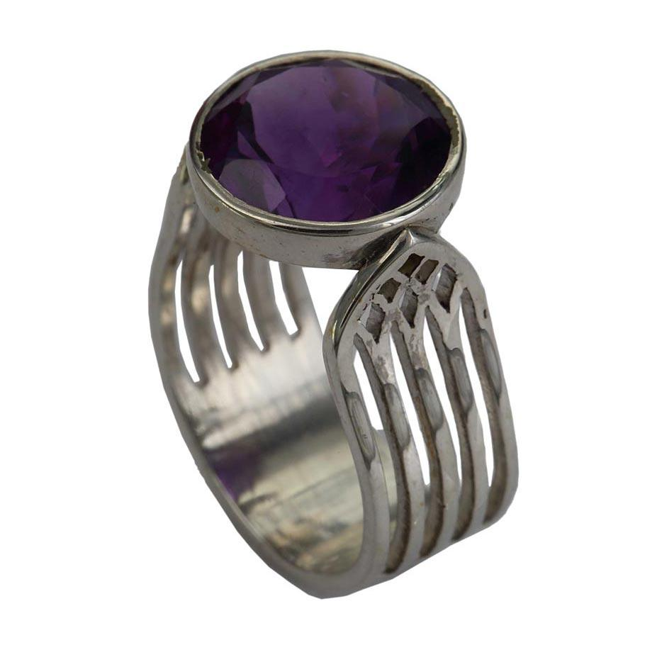 Trancend Ring - Amethyst