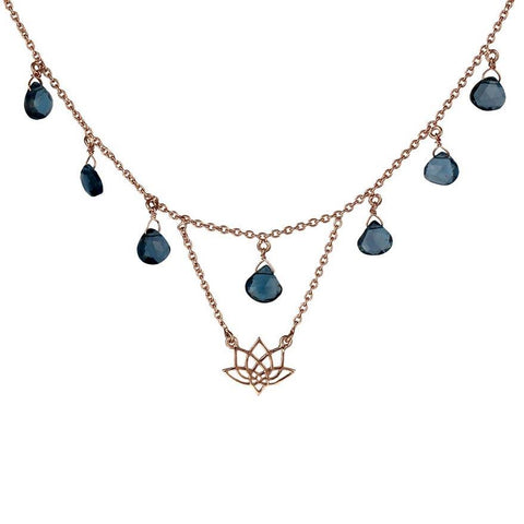 Enlight Necklace - London Blue Topaz