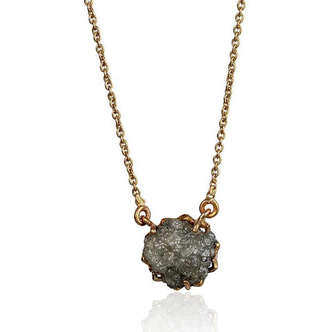 Miracle Necklace - Reversible - Rough Diamond in 18K Rose Gold