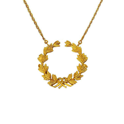 Wreath of Honour Necklace - Small