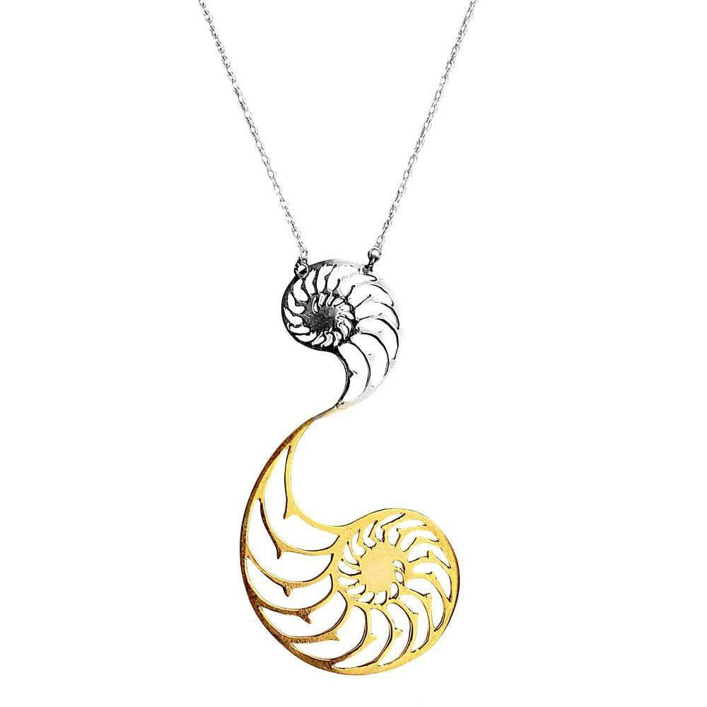 Nautilus Dual Necklace