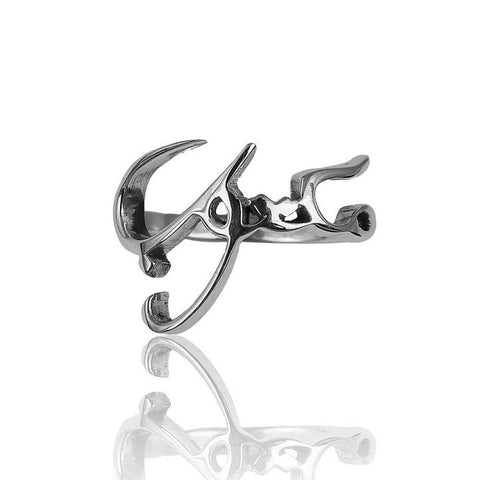 Maktub (It's written) Ring - Arabic - Unisex