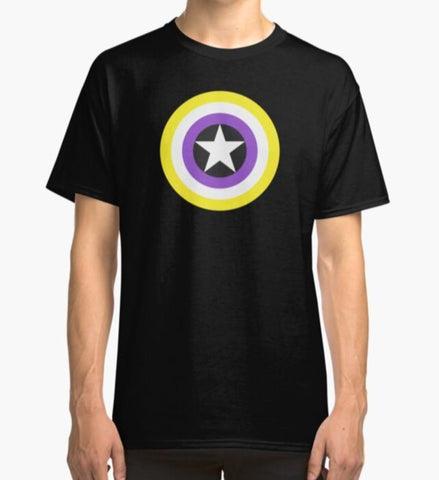 Non binary Shield T-Shirt