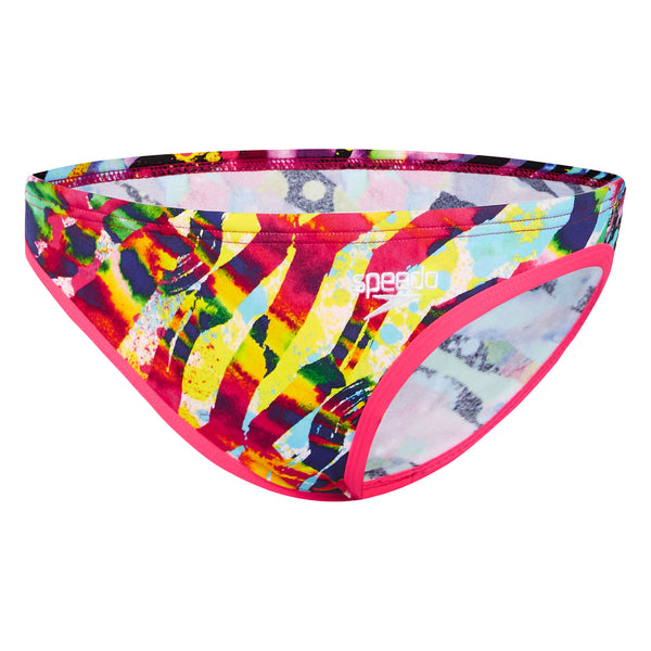 Speedo Samba Colours Crossback Crop Set Womens