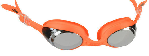 blueseventy Element Mirror Goggle Orange/Silver