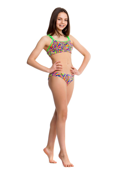Funkita Mystic Twist Criss Cross Two Piece Girls