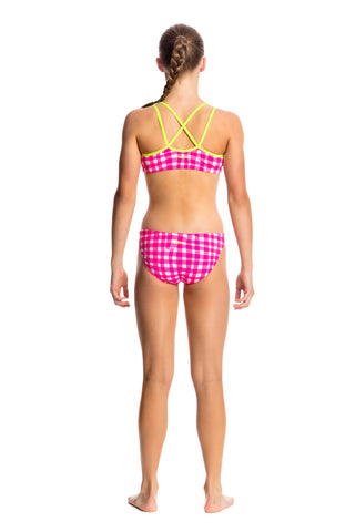 Funkita Check Me Out Criss Cross Two Piece Girls