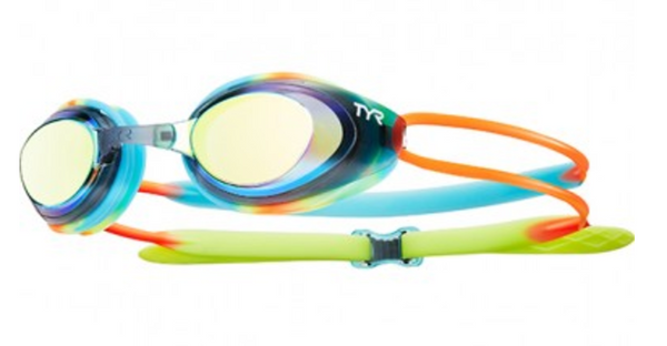 TYR Blackhawk Junior Mirrored Goggles