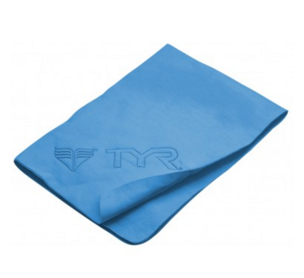 TYR Blue Dry OFF Sport Towel
