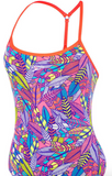 Speedo Tribal Feathers Womens One Piece