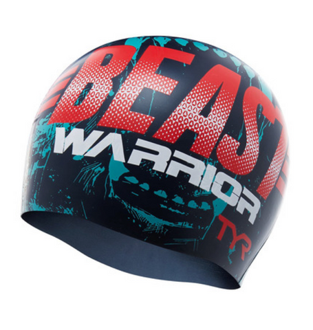 TYR Graphic Beast Warrior Silicone Cap