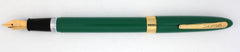 Sheaffer, Snorkel Statesman Fountain Pen, Sage Green w/Goldfill Trim - VP4352