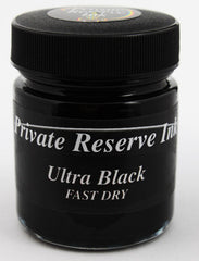 Private Reserve Bottled Ink, Ultra Black Fast Dry