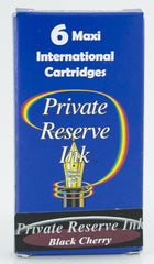 Private Reserve Ink -- Black Cherry Ink Cartridges 6 Pack
