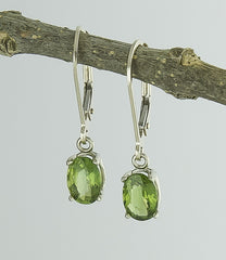 Earrings, Tourmaline