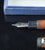Parker, Duofold Vest Pocket Fountain Pen, Orange Permanite w/Goldfill Trim - VP 4453