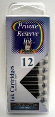 Private Reserve Ink - Sonic Blue Ink Cartridges 12 Pack