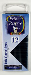 Private Reserve Ink - DC Supershow Blue Ink Cartridges 12 Pack