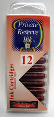 Private Reserve Ink - Dakota Red Ink Cartridges 12 Pack