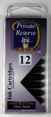 Private Reserve Ink - Ebony Purple Ink Cartridges 12 Pack
