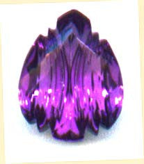 Gemstone, Amethyst, Pear Shape, 10.95 Carats