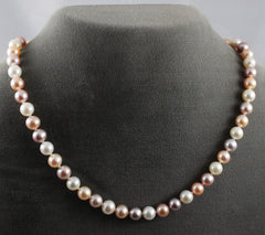 Necklace, Pearl (Cultured Salt Water) Multicolored