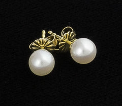 Earrings, Pearl (Cultured Salt Water)