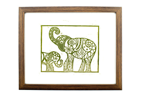 Limited Edition Elephant print