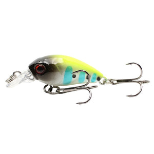 Crankbait Fishing Lure Artificial Hard Crank Bait Bass