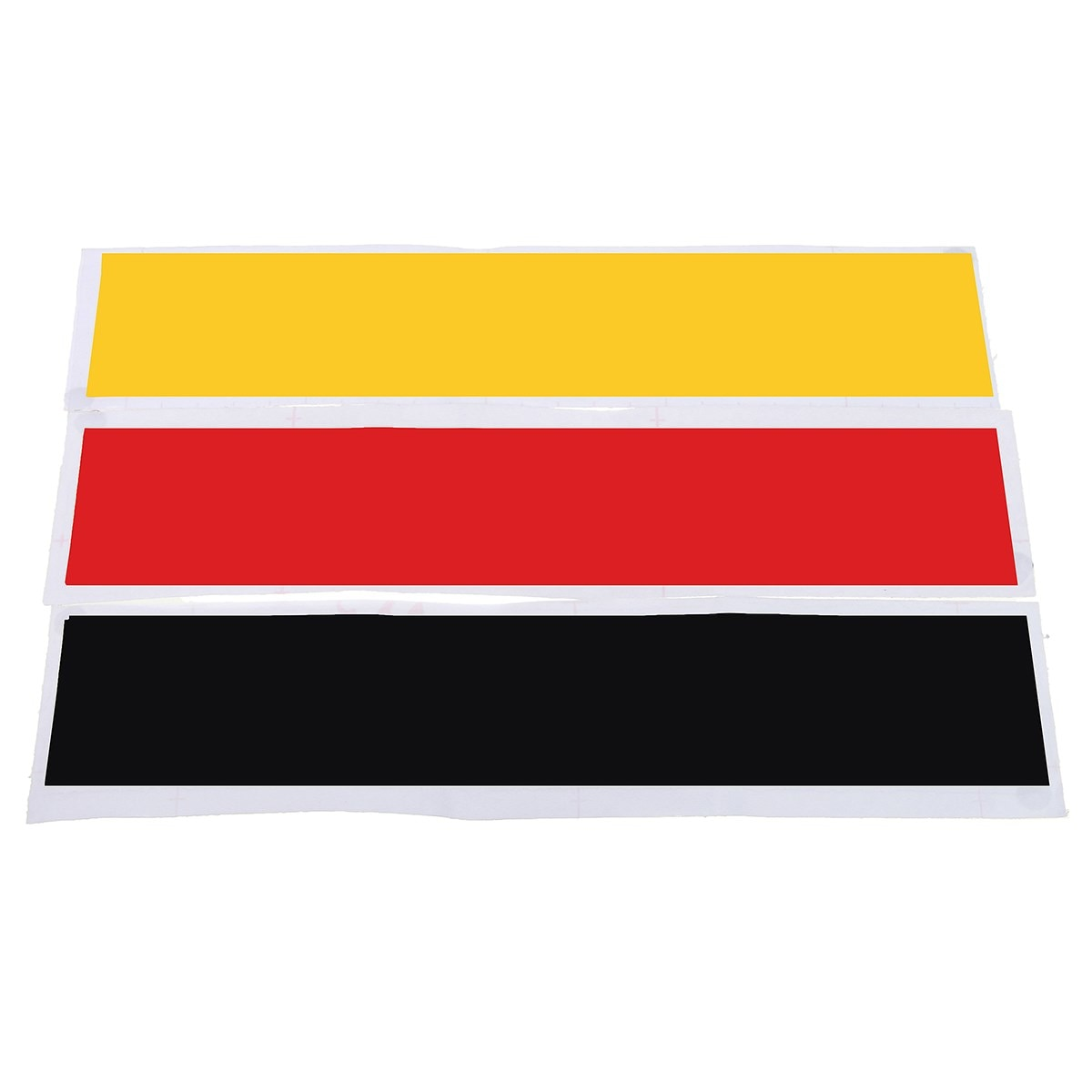 Set Germany Flag Color Stripe DIY Decal Sticker For Audi /BMW /Mercedes /VW