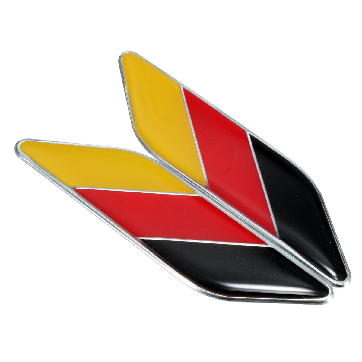 German Flag Card Decal 3D