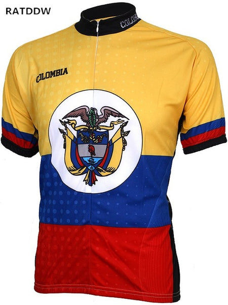 Colombia 100% Polyester Riding Clothes Cycling