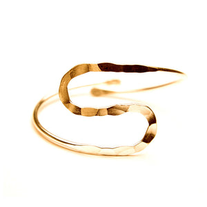 Egypt Bar Curve Geo Open Upper Arm Cuff Armlet Armband Bangle Bracelet