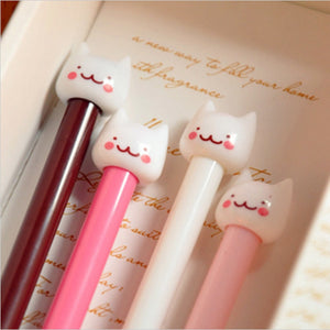 New Cute Cat Kawaii Korea Novelty Gel pens