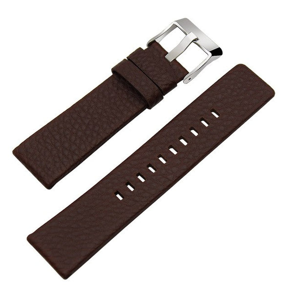 France Genuine Calf Leather Watchband +Tool for Fossil Q Gazer / Q Nate Watch Band