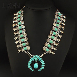 Ancient Egypt Style Jewelry Fashion Chunky Chain Resin Long Necklaces