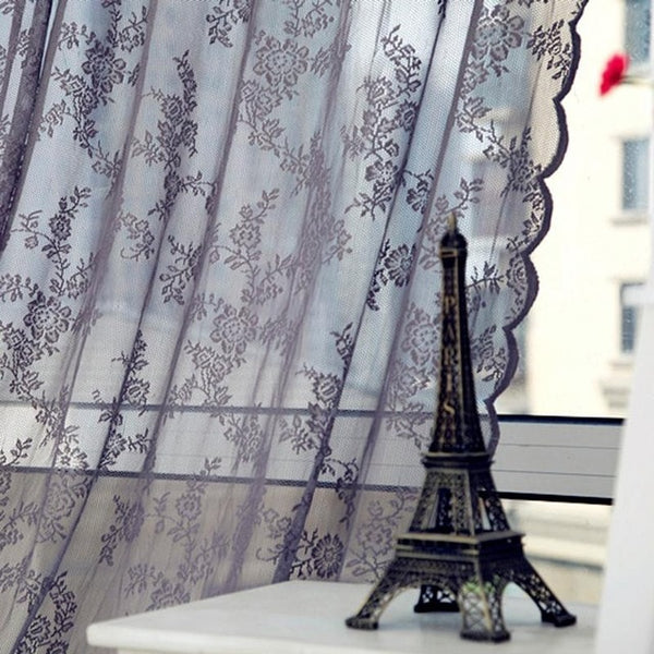 Lace Curtains Voile Tulle Curtains