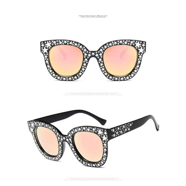 Diamond Sunglasses Women Italy Brand