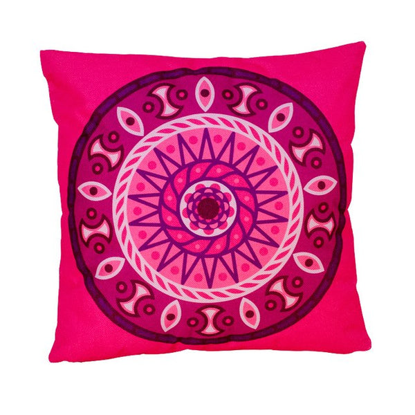 Hoomall  Fashion Christmas Decorations for Home Pillow Ethnic India Style Printed Cushion Cover for Sofa Square Throw Pillows