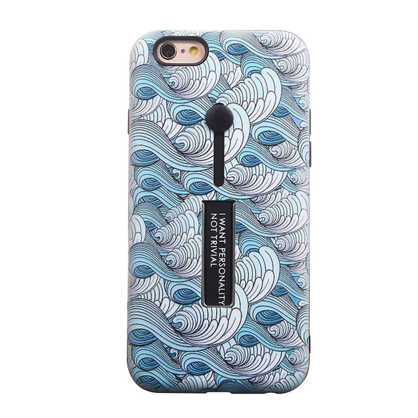 Phone Cover Chinese Style Wave Pattern Relief Painting TPU Raytheon Series Anti-scratch Scratch-resistant Mobile Phone Shell for iPhone